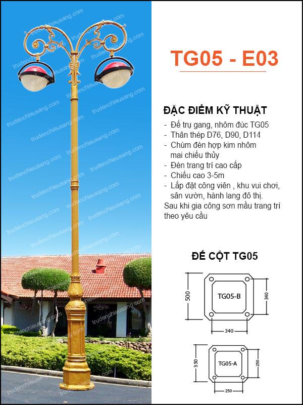 Trụ Đèn TG05-E03