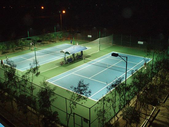 Thiết kế chiếu sáng sân Tennis