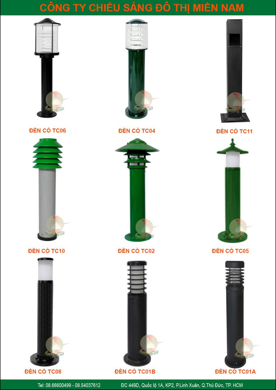 Những Mẫu đèn nấm sân vườn, đèn soi lối đi đẹp nhất