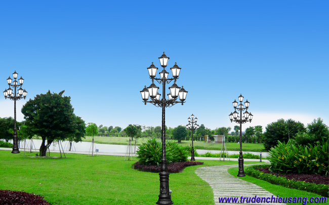 Đèn chiếu sáng công viên